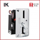 LK799S 利康新款 银灰色 侧投面板投币器 非常耐用