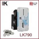 LK790白蓝拼接兔子热销投币器动漫配件
